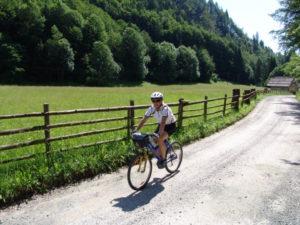 Pokljuka je pravi raj za kolesarje.
