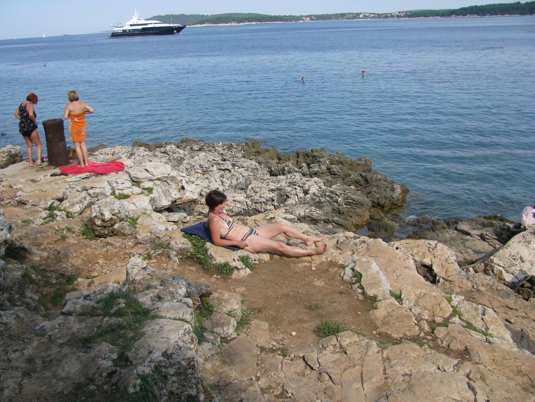Pula - plaža