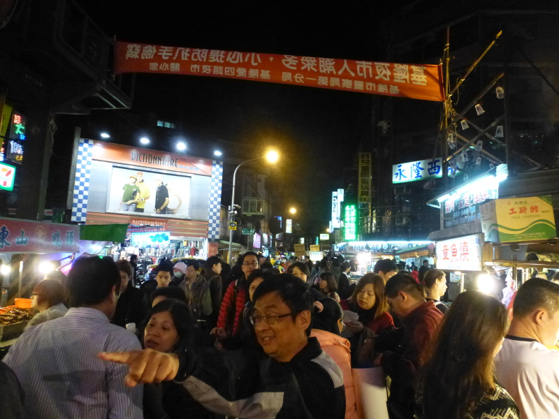 Tajvan - nočne tržnice hrane