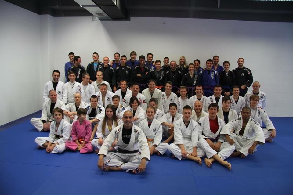 BJJ - skupinska slika po treningu