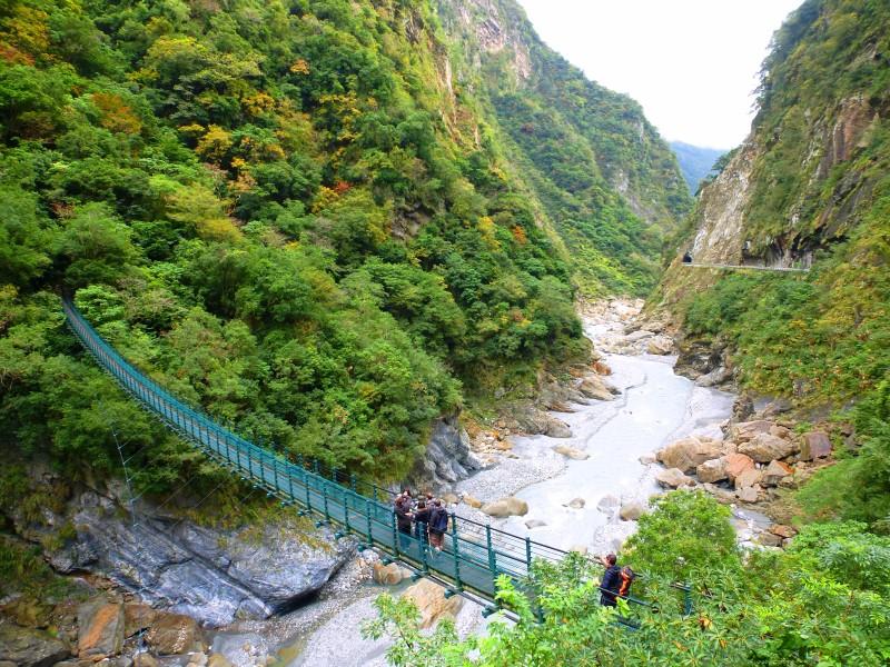 Tajvan - soseska Taroko
