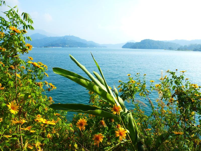 Tajvan - jezero Sun Moon