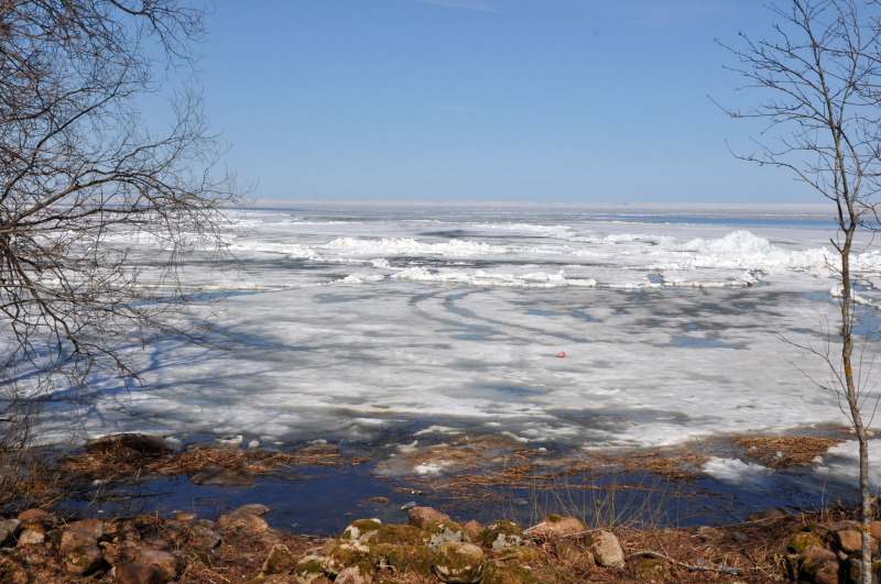 Estonija - jezero, ki meji na Rusijo