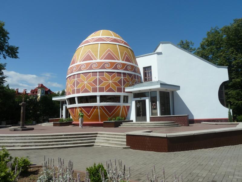 Ukrajina - muzej pisank Kolomija