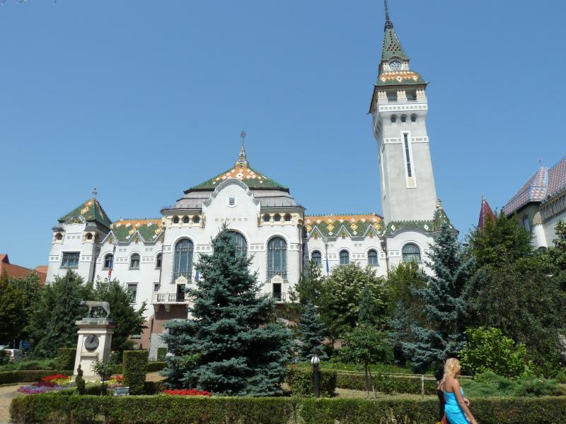 Vzhodna Evropa - mesta hiša v Targu Mures