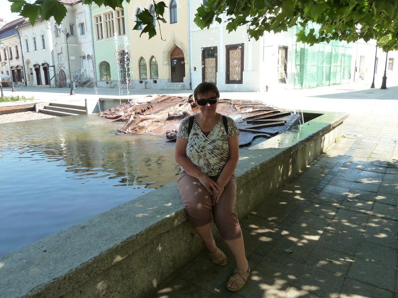 Vzhodna Evropa - fontana v Baiu Mari