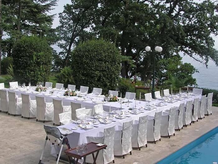Lovran - poroka v Hotel Villa Astra