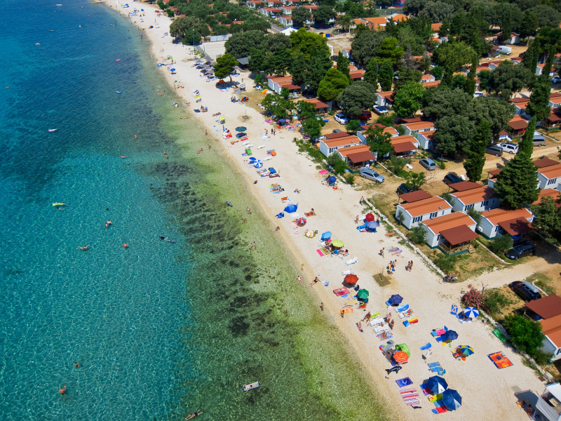 Kamp Straško - obala