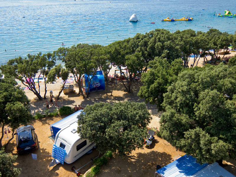 Kamp Straško - urejenost kampa