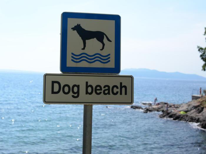 Lovran - plaža za pse