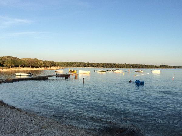 Reportaža Barbariga - prodnata plaža