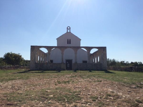 Reportaža Barbariga - cerkev Sv. Foške
