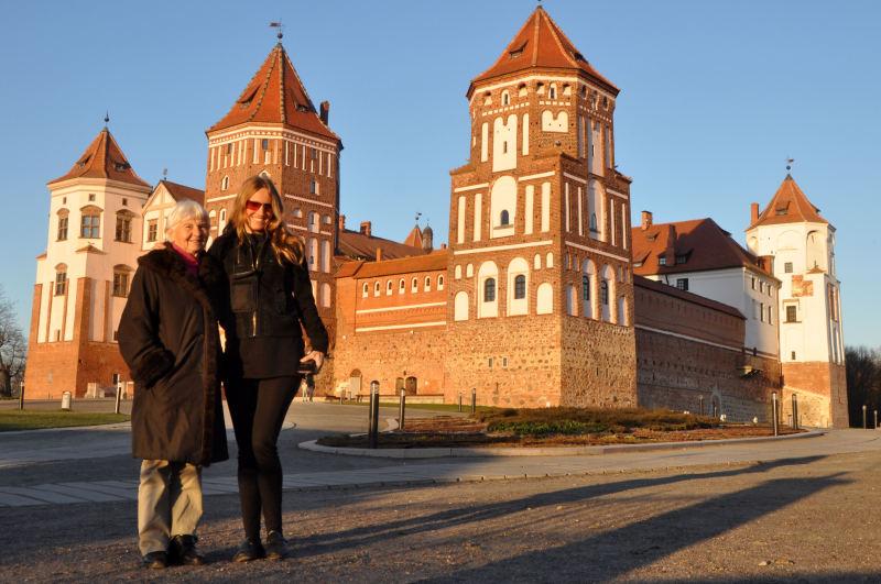 Belorusija - grad Mir