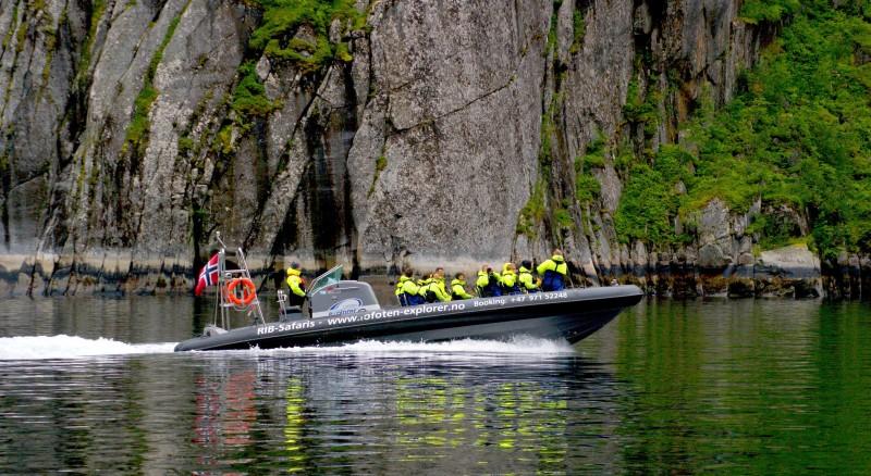 Skandinavija - Lofoti izlet s čolni