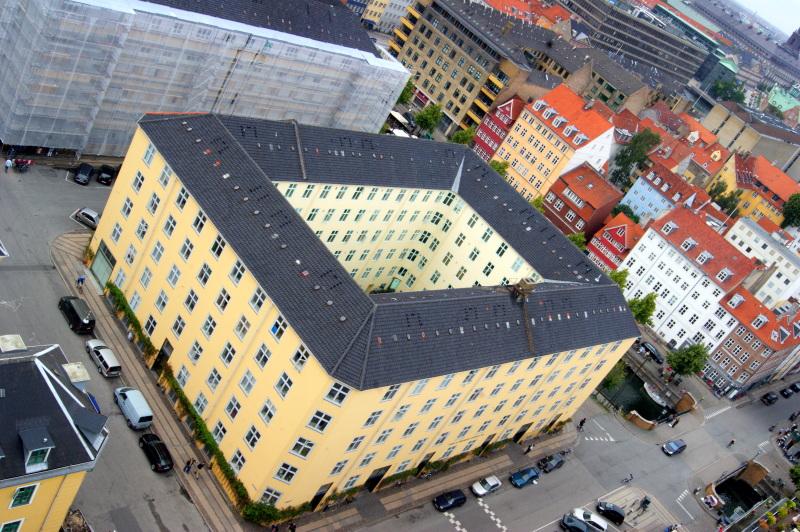 Skandinavija - Kobenhavn pogled z zvonika