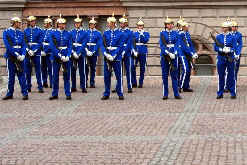 Skandinavija - Stockholm kraljeva straža