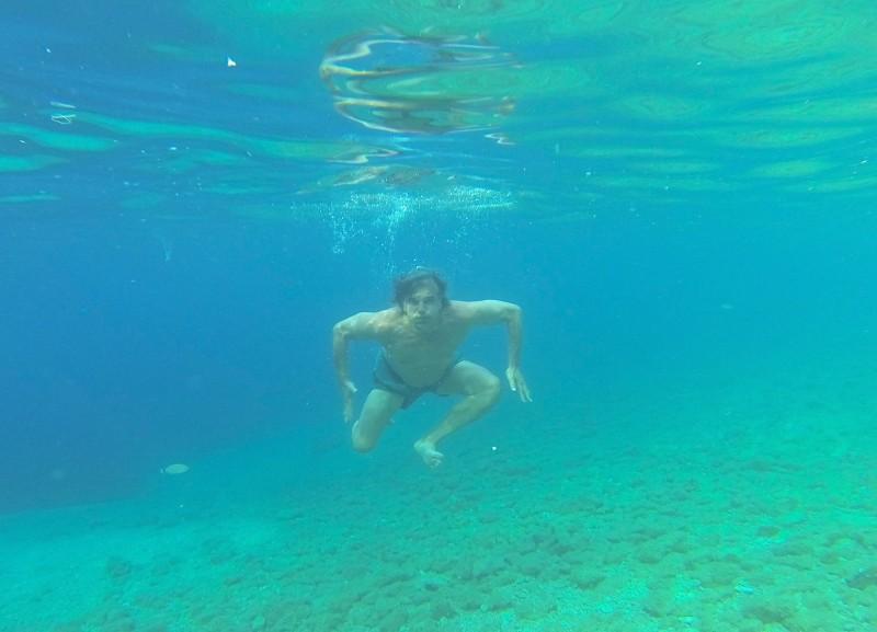 Intervju Davor Radolfi - pod vodo