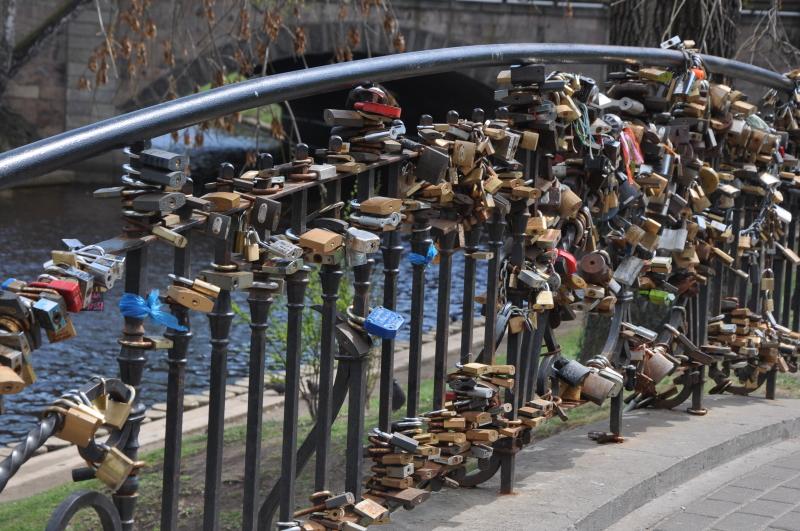 Latvija - most ljubezni