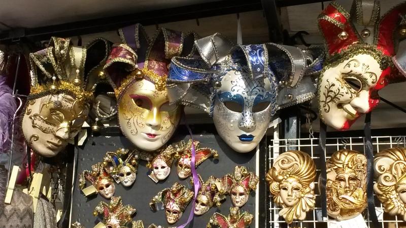 Benetke in Verona - Beneške maske