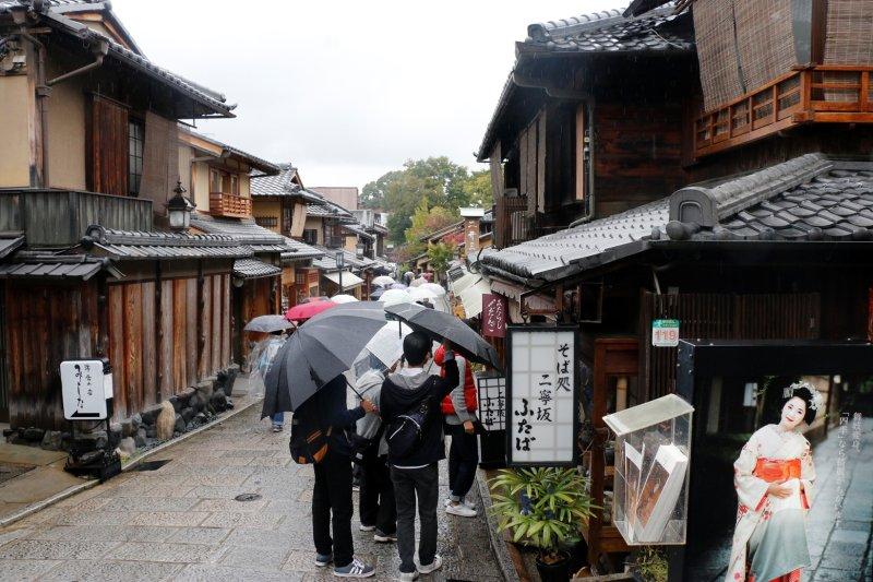 Japonska - Higashiyama in stara prestolnica