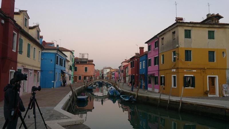Benetke in Verona - otok Burano