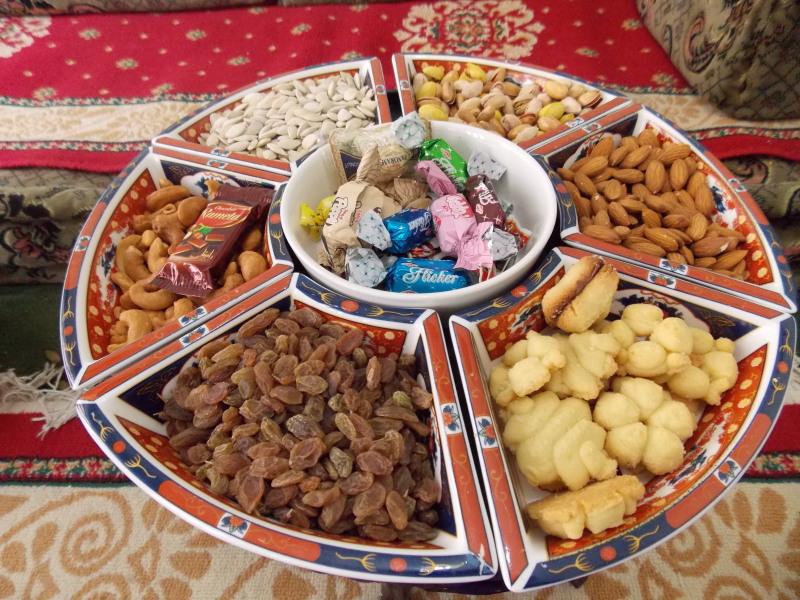 Jemen - oreščki in sladice