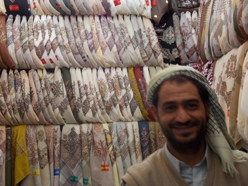 Jemen - trgovina z rutami