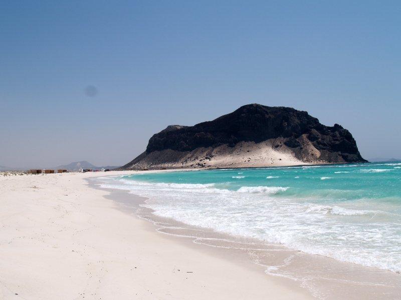Jemen - plaža Bir Ali