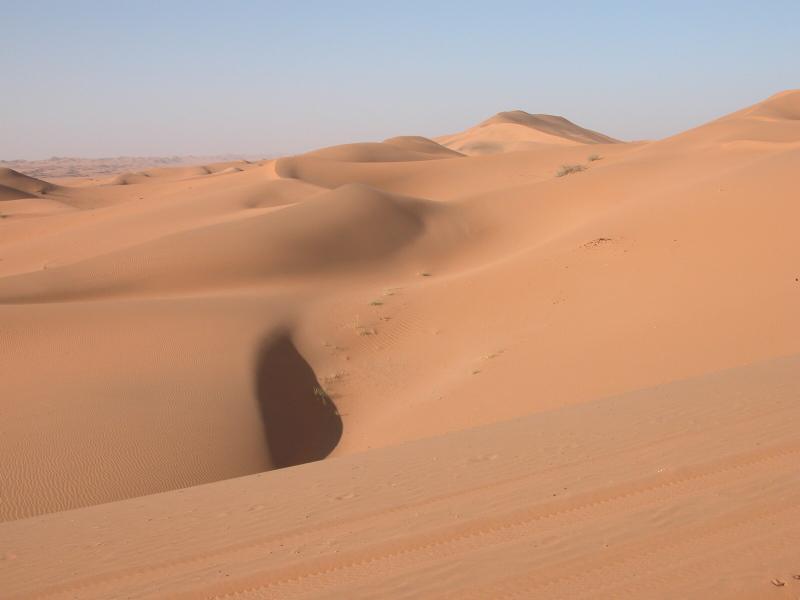 Jemen - puščava