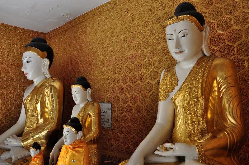 svetišče mesta Yangon