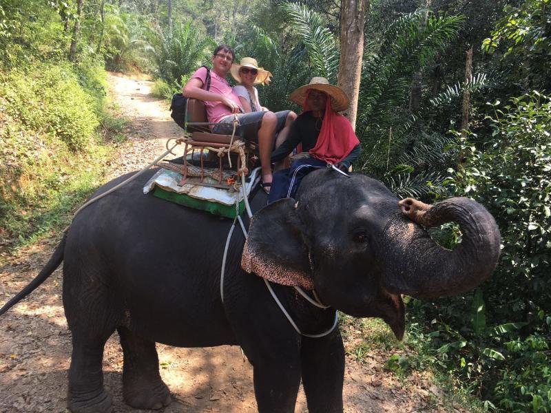 jahanje slona
