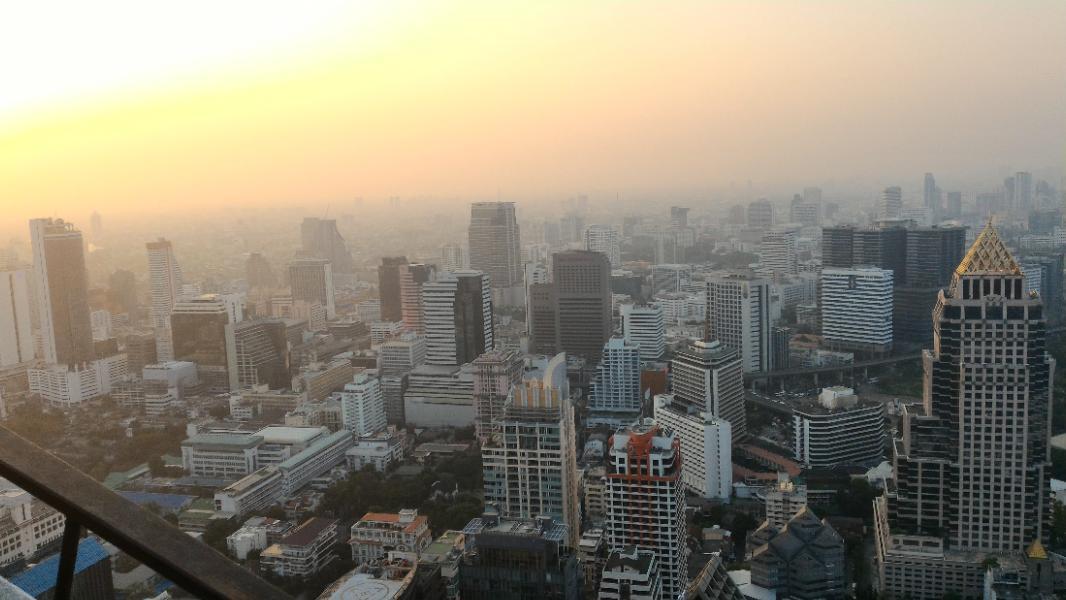 razgled nad Bangkokom
