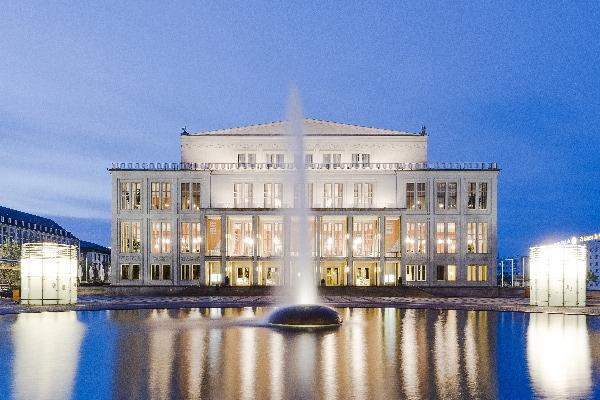 Operna hiša v Leipzigu © LTM, FOTO: Tom Schulze