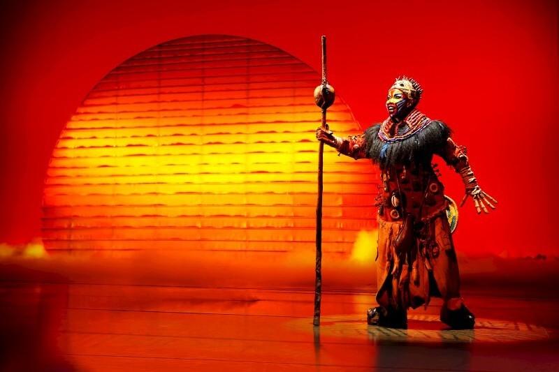 Show gledališče STAGE - Levji kralj