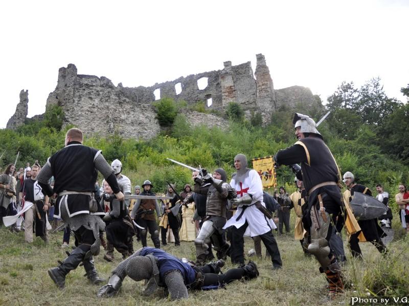 Slavonija - grad Ružica in viteški turnir