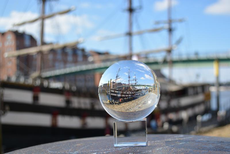 steklena krogla Amiral Nelson