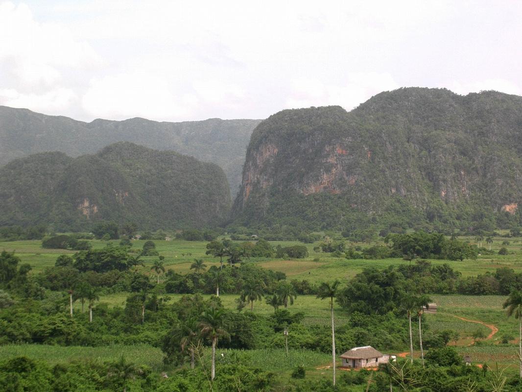 Kuba, bujna pokrajina