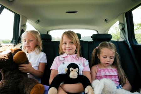 Potovanje z otroki z avtom
