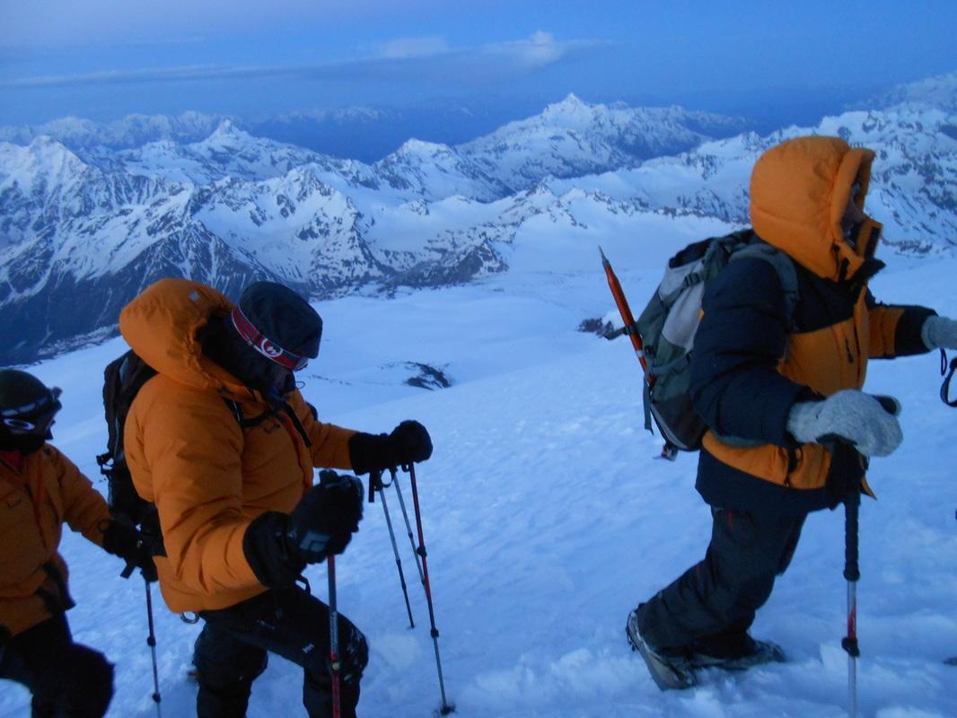 Elbrus, odprava