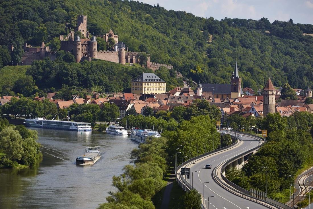 Grad Wertheim - Romantična cesta, Bavarska