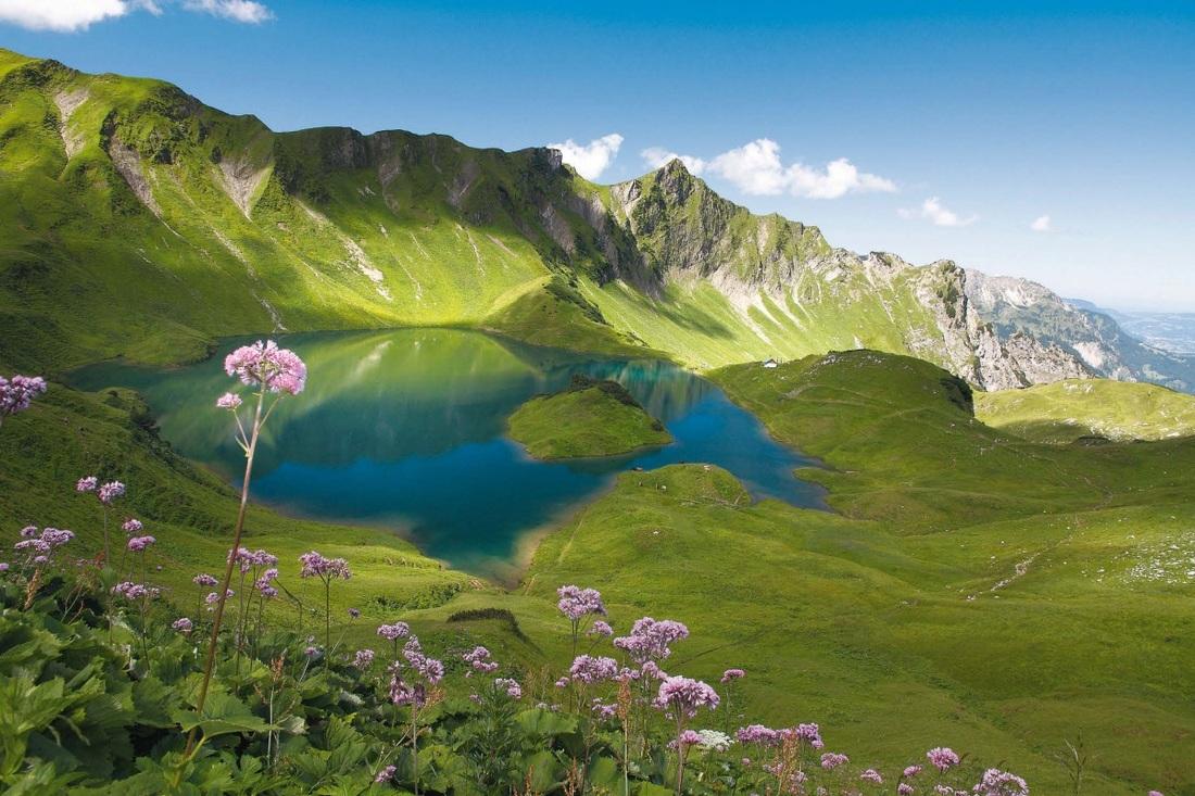 Jezereo Schrecksee – Bavarske Alpe