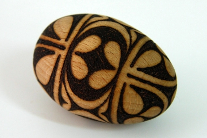 Škofjeloški pasijon - leseno pobarvano jajce