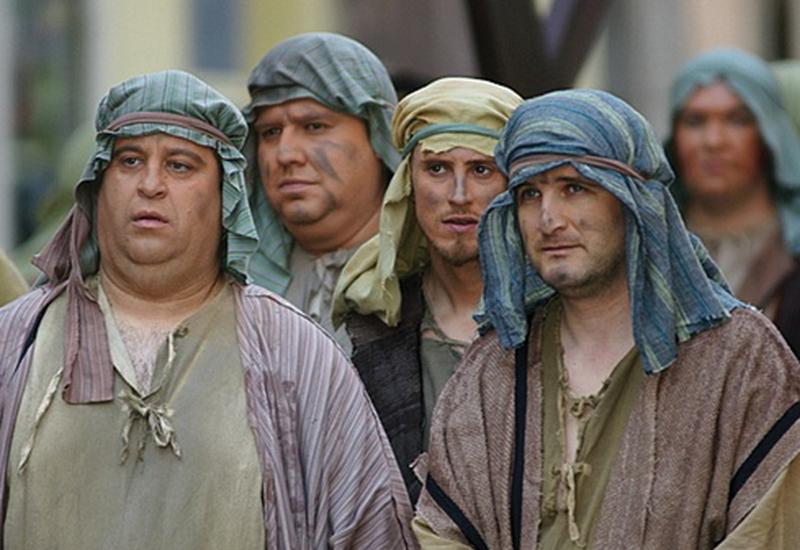 Škofjeloški pasijon - romarji