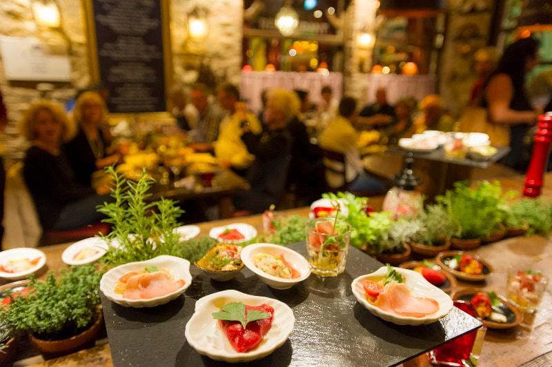 Kulinarični večer v hotelu Bodega