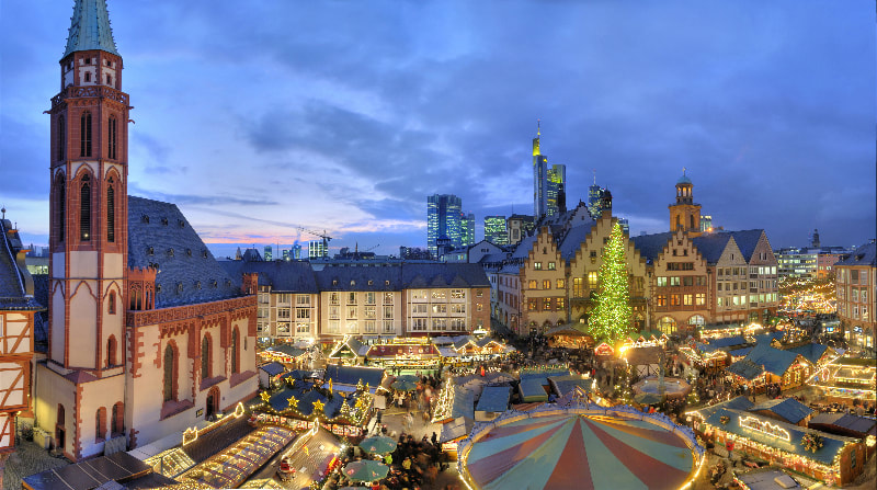 Božični sejem v Frankfurtu