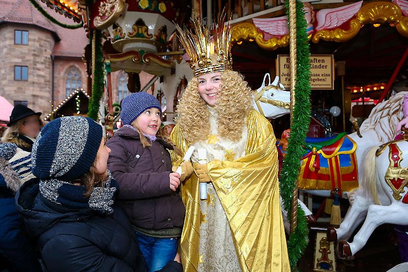 Božični sejem za otroke v Nürnbergu