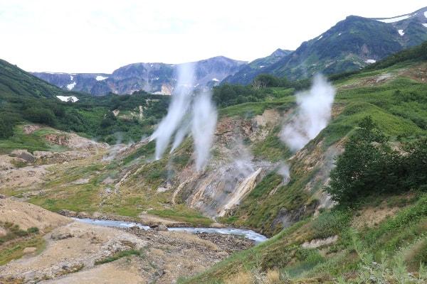 Kamčatka- dolina gejzirjev