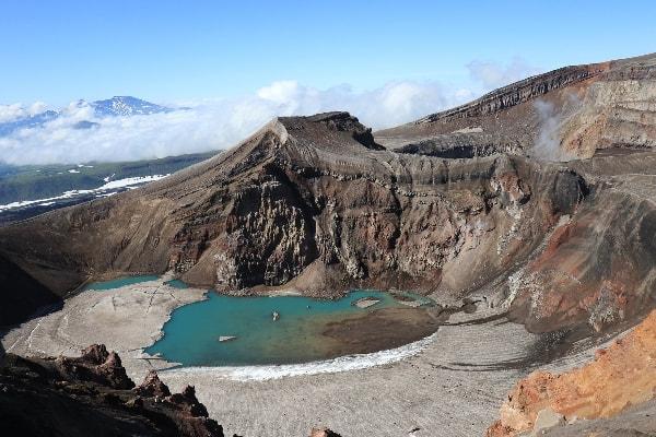 Kamčatka- vulkan Goreli