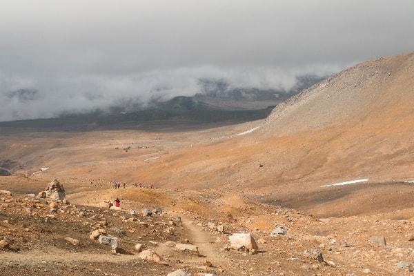 Kamčatka- vulkan Mutnovski