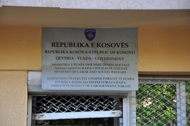 kosovo - priština, center vlade